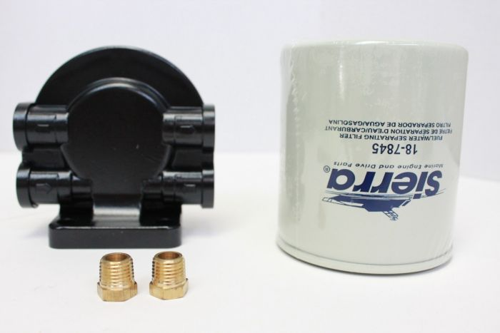 Sierra Tall Fuel Filter/Water Separator Assembly