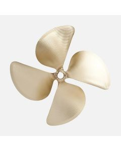 "ACME 1868 12.50"" x 14.25"" Right Hand Propeller 4-Blade - SKIDIM"